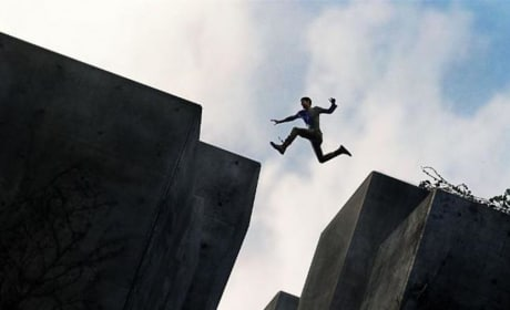 The Maze Runner Jumping Poster
