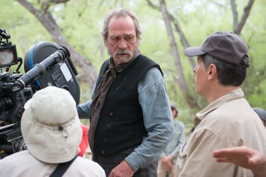 Tommy Lee Jones Directs The Homesman