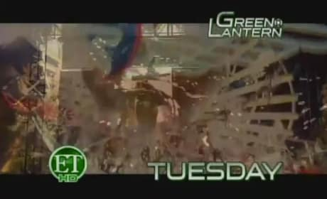 Get Your First Peek at The Green Lantern Footage!