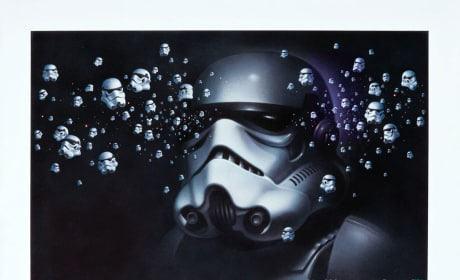 Stormtrooper Painting
