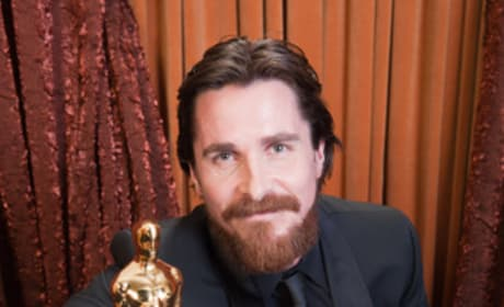 Oscar Press Room: Christian Bale on his Oscar Win, Losing Weight For The Role