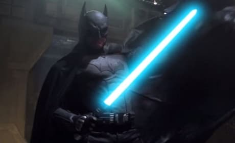 Batman Battles Darth Vader in Epic Video: Watch Now!
