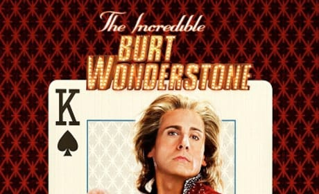 The Incredible Burt Wonderstone Character Posters: Steve Carell and Jim Carrey as Magicians