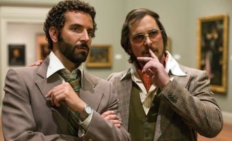 American Hustle Photos: Bradley Cooper with a Fro!