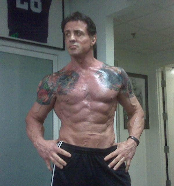 Stallone Gets Ripped for The Expendables