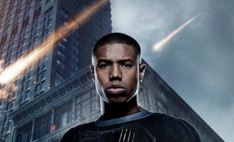 Fantastic Four Character Poster Human Torch