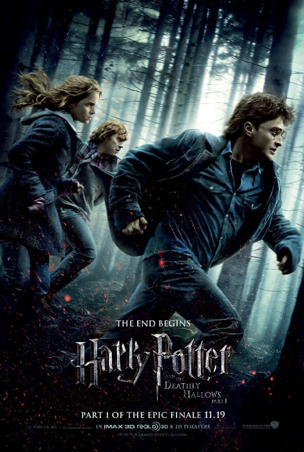 Harry Potter and the Deathly Hallows Running Poster
