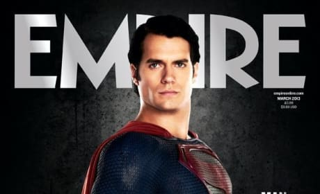 Man of Steel Empire Cover and First Image of General Zod