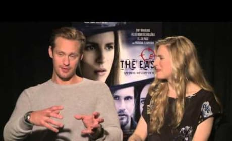 Alexander Skarsgard and Brit Marling The East Interview