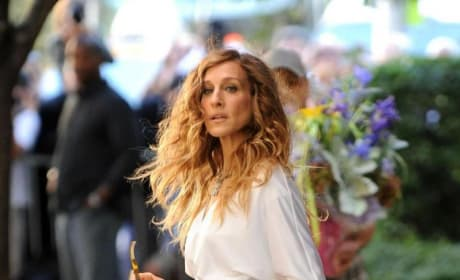 Sarah Jessica Parker Films Scene for Sex and the City Sequel