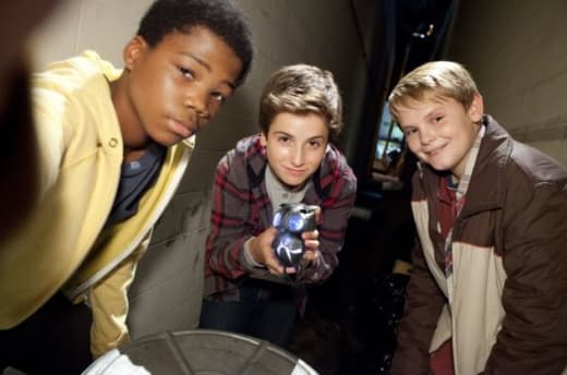 Cast of Earth to Echo Photo