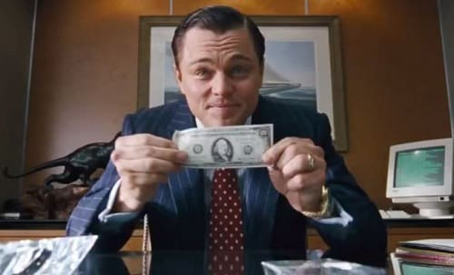 Leonardo DiCaprio The Wolf of Wall Street Still