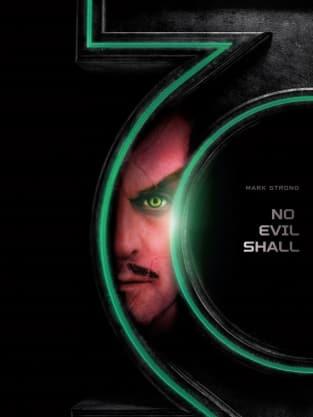 Green Lantern Mark Strong Poster