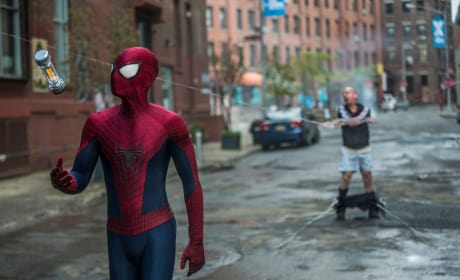 Spider-Man in The Amazing Spider-Man 2