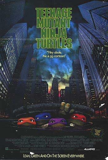 Teenage Mutant Ninja Turtles Original Poster