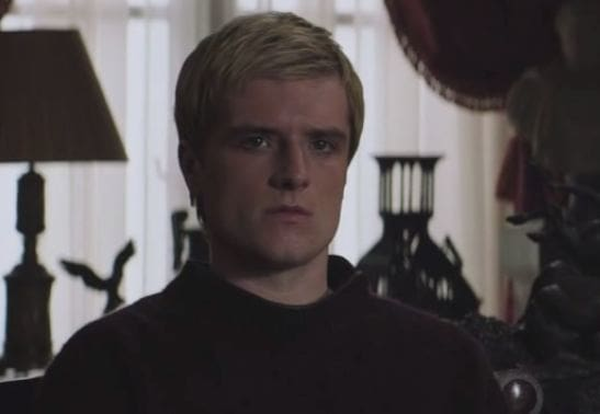 Peeta Mockingjay Part 1 Deleted Scene PHoto