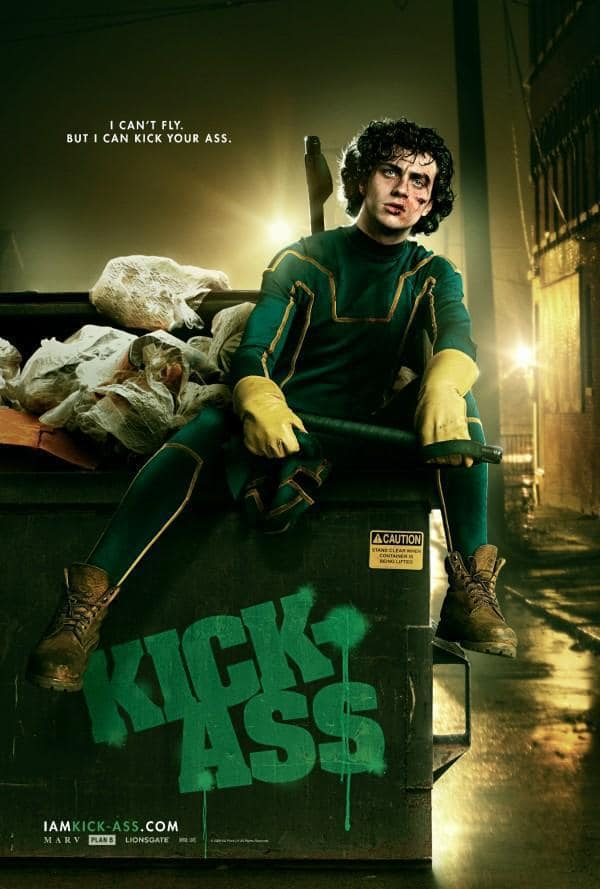 Kick-Ass' Kick-Ass Poster