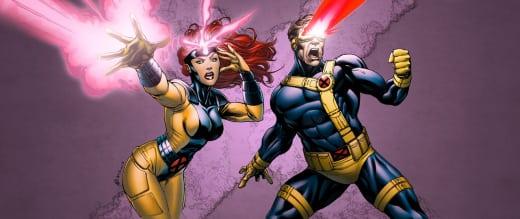 X-Men Jean Grey and Cyclops