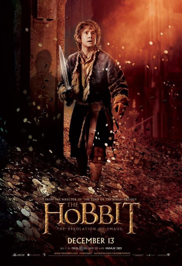 The Hobbit: The Desolation of Smaug Bilbo Baggins Poster