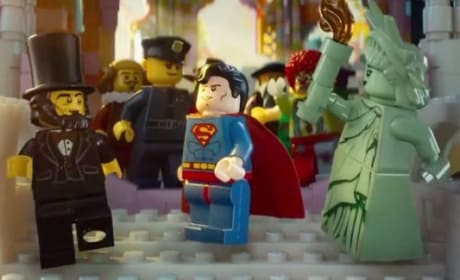The LEGO Movie Superman