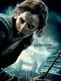 Hermoine Deathly Hallows Character Poster