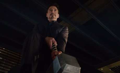 Avengers Age of Ultron Clip: It's Hammer Time!