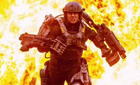 Edge of Tomorrow: Big Moment for Tom Cruise!