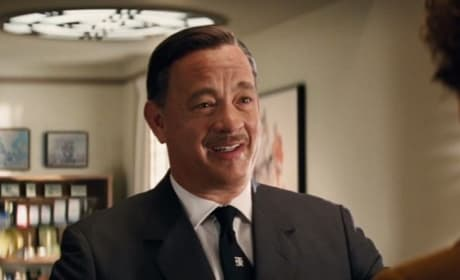 Tom Hanks is Walt Disney in Saving Mr. Banks
