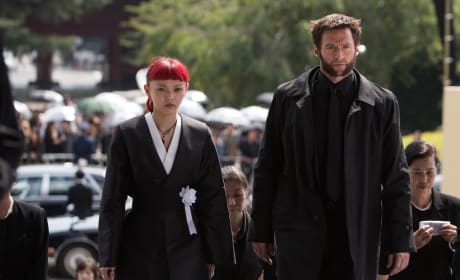 The Wolverine Photos: Hugh Jackman as Man in Black?