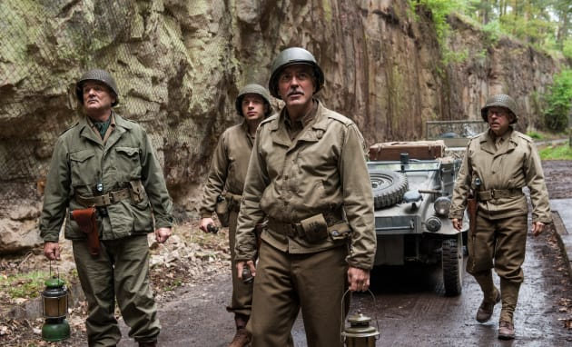The Monuments Men George Clooney Bill Murray