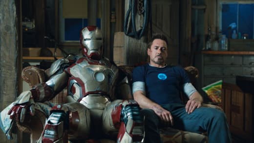 Robert Downey Jr. Stars As Iron Man 3