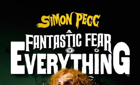 A Fantastic Fear of Everything Poster: Simon Pegg is Scared Out of His Pants
