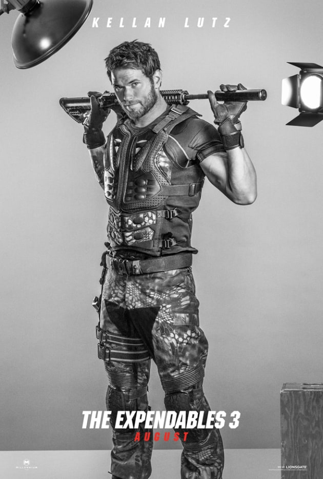 The Expendables 3 Kellan Lutz Poster