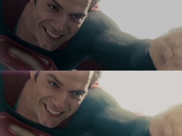 Man of Steel Color Corrected