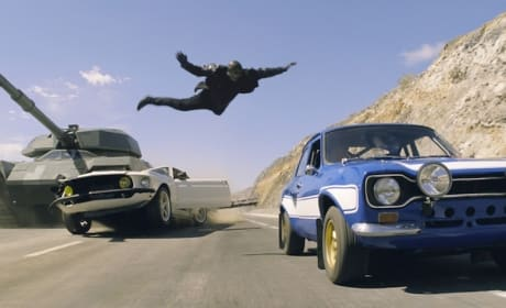 Fast and Furious 6 Car Jump