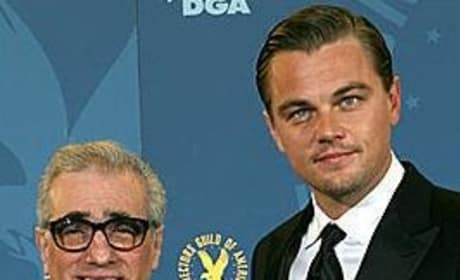 Reunited: Leonardo DiCaprio and Martin Scorsese