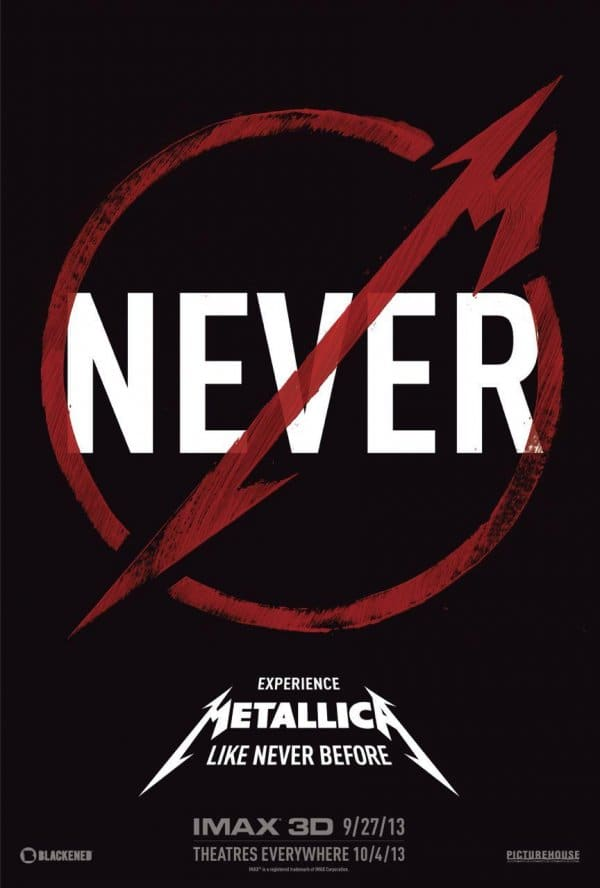 Metallica Through the Never Movie Poster