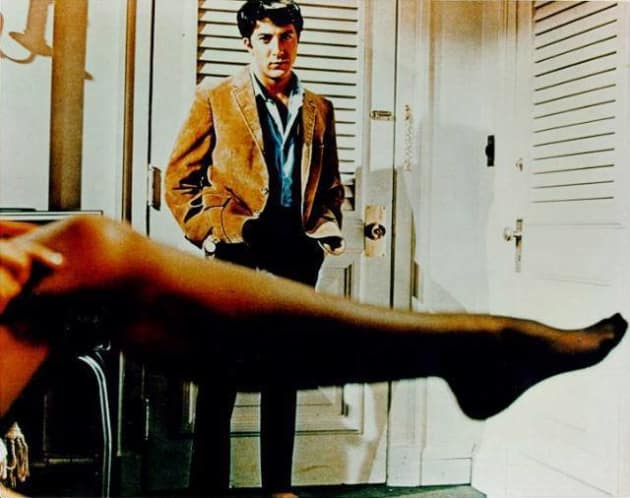 The famous leg shot