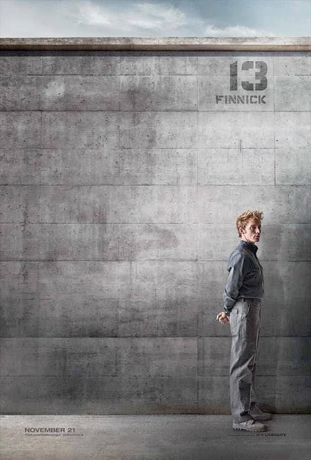 Mockingjay Part 1 Sam Claflin Poster