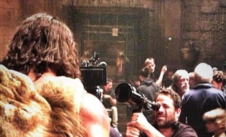 Hercules: Brett Ratner Films Dwayne Johnson in Action