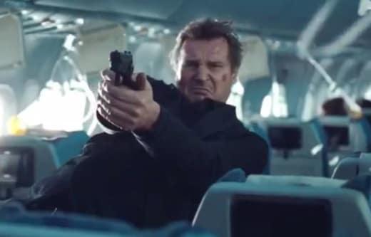 Non-Stop Star Liam Neeson