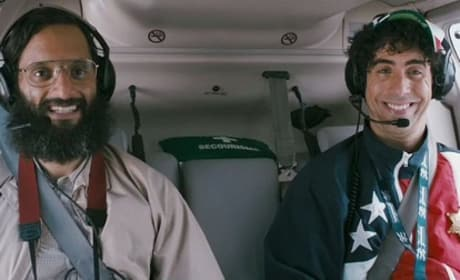 The Dictator: Helicopter Clip