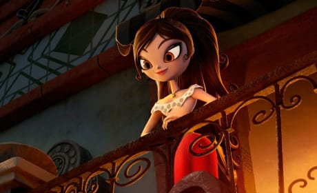 The Book of Life Zoe Saldana