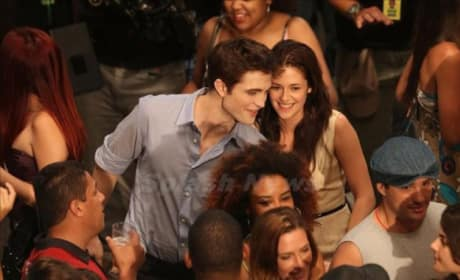 Robert Pattinson and Kristen Stewart Live it Up in Rio Shooting Breaking Dawn