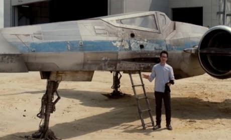 Star Wars Episode VII: J.J. Abrams Unveils X-Wing Fighter in Force For Change Video