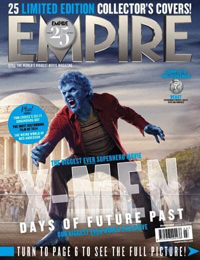 X-men Days of Future Past Beast Empire Cover