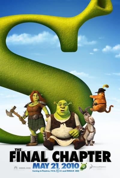 Shrek Forever After Teaser Poster
