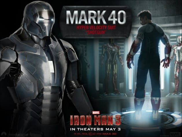 Iron Man 3 Mark 40 Suit
