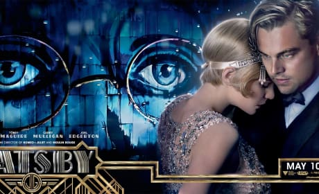 The Great Gatsby Banner Carey Mulligan Leonardo DiCaprio