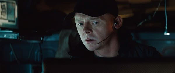 Simon Pegg in Mission Impossible: Ghost Protocol